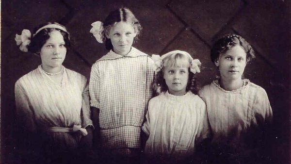 Isabel, Mary, Ann & Florence Billings